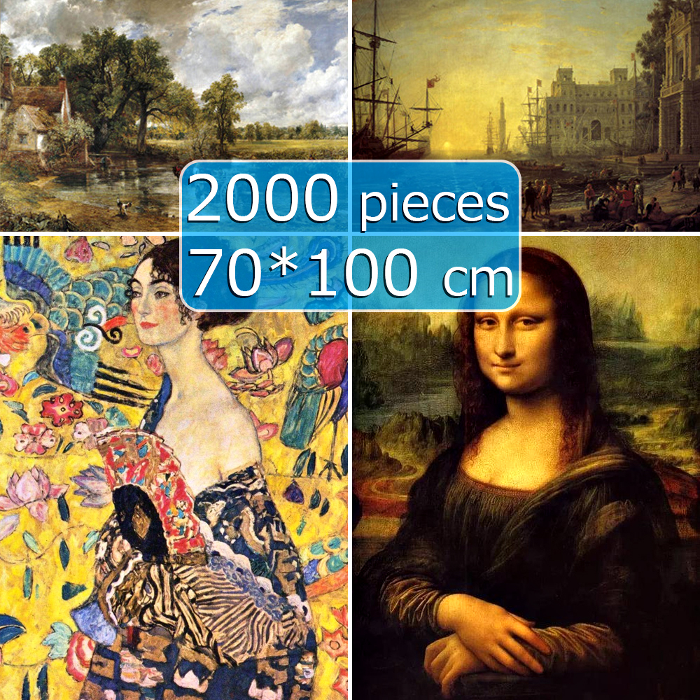 Jigsaw Puzzle 70*100 Cm Puzzle 2000 Pieces Famous Painting Of World Adult Puzzles Kids DIY Creativity Imagine Educational Gifts