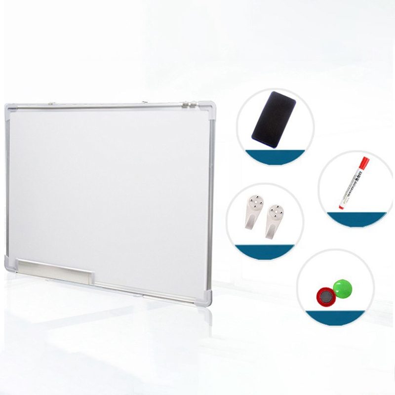 Double Side Whiteboard Office School Dry Erase Writing Board Pen Magnets Button For Kids Home Office Message Drawing Board