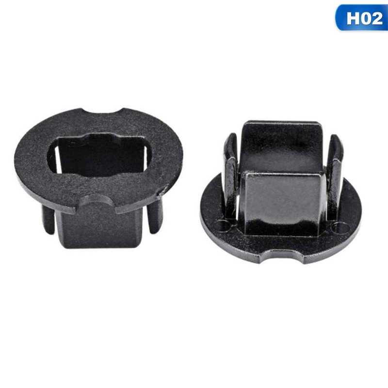 1 paire de voiture phare LED lampe ampoule adaptateur support Base prises retenue pour H1 H3 H4 H7 H11 H13 9004 9005 9006 9007