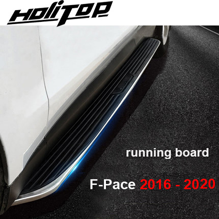 Hot side step side bar running board for Jaguar Fpace F-Pace F Pace 2017-2020 year,original design, supplied by ISO9001 factory