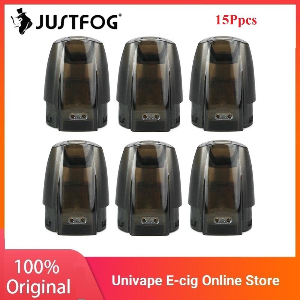 New Version Original JUSTFOG Minifit Pod/ Ceramic Pod 3 Pcs 1.5ml For JUSTFOG Minifit Starter Kit Electronic Cigarette Accessory