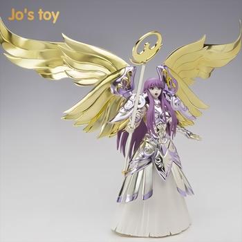 Jo's toy Original Bandai Saint Seiya Goddess Athena PVC Action Figure Model Toys new arrival brand new japan anime saint seiya original bandai tamashii nations saint cloth myth ex action figure libra dohko