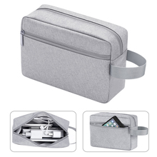 BUBM อุปกรณ์เสริมกันน้ำอิเล็กทรอนิกส์ดิจิตอลหูฟัง USB Charger ข้อมูลสายเก็บข้อมูลกระเป๋า