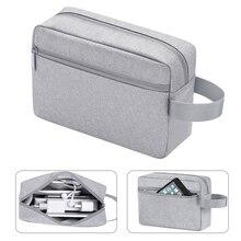 BUBM seyahat aksesuarları organizatör su geçirmez elektronik dijital kulaklık USB şarj cihazı veri kablo düzenleyici depolama veri çanta