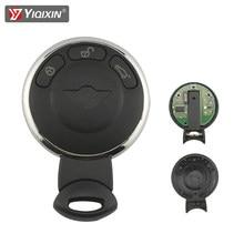 Yiqixin 315/315lp/433/868mhz id46 chip 3 botão remoto chave do carro para bmw mini cooper clubman countryman r56 r57 r58 r60 cabrio jcw