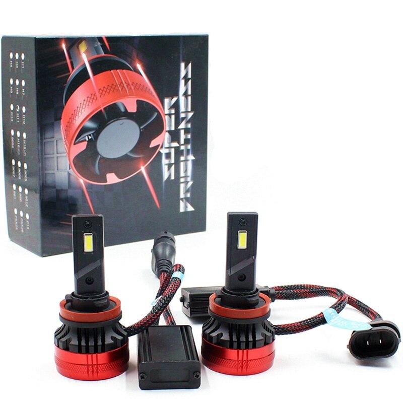 F5 LED Scheinwerfer Birne Nebel Licht H4 H7 H13 Auto LED Scheinwerfer 110W 20000LM H7 H11 H8 9005 9006 h1 Led-lampen LED H7 scheinwerfer