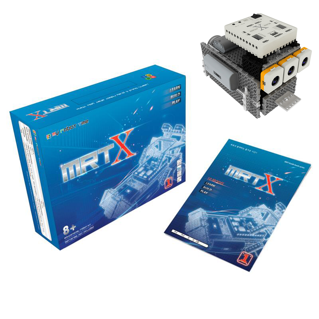 My Robot Time MRT X-1 Robots Building Block Kit Assembly Programmable Educational Robot Toy For 12-15 Years Old