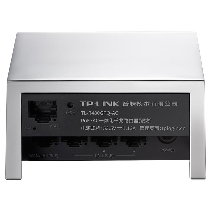 TP-LINK Five Poeac Integration Gigabit Router Management AP Breadboard Ceiling TL-R480GPQ-AC