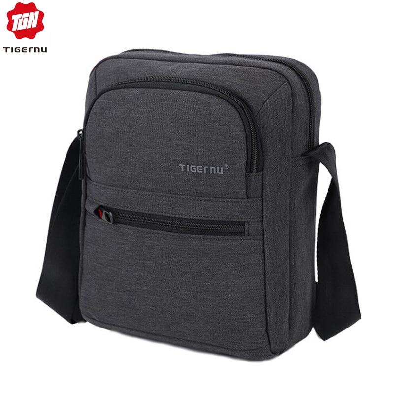 Tigernu Brand High Quality Men 's Messenger Bag Mini Business Shoulder Bags  Casual Summer Bag Women Cross Body Bag Male Bag Men