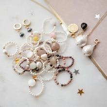 Момиджи в богемном стиле ручной работы из бисера, кольца для женщин, модная одежда для девочек из натурального камня Ювелирные изделия опто...