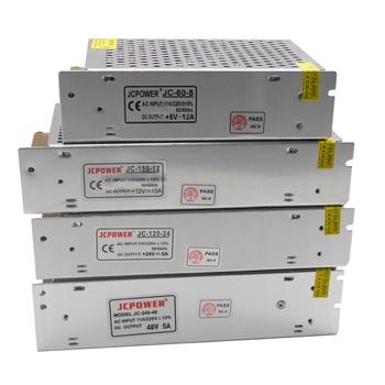LED transformer Switch 5V 12V 24V 36V 48V Power Supply, 2A/3A/4A/5A/6A/10A/12A/20A/30A/40A/60A power For  led strip 12v 24v 48v volt power supply 1a 2a 3a 5a 6a 8a 10a 12a 15a 20a 30a 33a 40a transformer 220v to 12v 24v 48v power supply smps