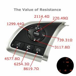 Image 5 - טלפון בקרת שיוט הגה מתג אוטומטי חילוף חלקי הגה כפתורים עבור מיצובישי הנכרי 2013 2015 2016 2018