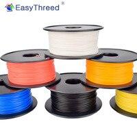 طابعة ثلاثية الأبعاد EasyThreed خيوط PLA 250g 1.75 مللي متر القطر صديقة للبيئة الانتهاء السلس ثلاثية الأبعاد المواد الاستهلاكية الطباعة