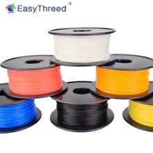 EasyThreed 3D เครื่องพิมพ์ PLA 250G/500G/1KG 1.75 มม.Eco Frindly Smooth เสร็จสิ้น 3D การพิมพ์วัสดุสิ้นเปลือง