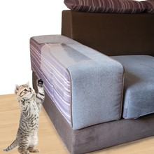 2PCS New Anti-Cat Scratch Sofa Protection Pticker Transparent Environmental Protection Pet Dog Safety Furniture Scratch