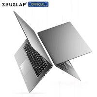 ZEUSLAP, 15,6 дюймов, 8 ГБ ОЗУ, до 2 ТБ HDD, Intel, четырехъядерный процессор, 1920*1080 P, Full HD, система Win10, школьный ноутбук, ноутбук