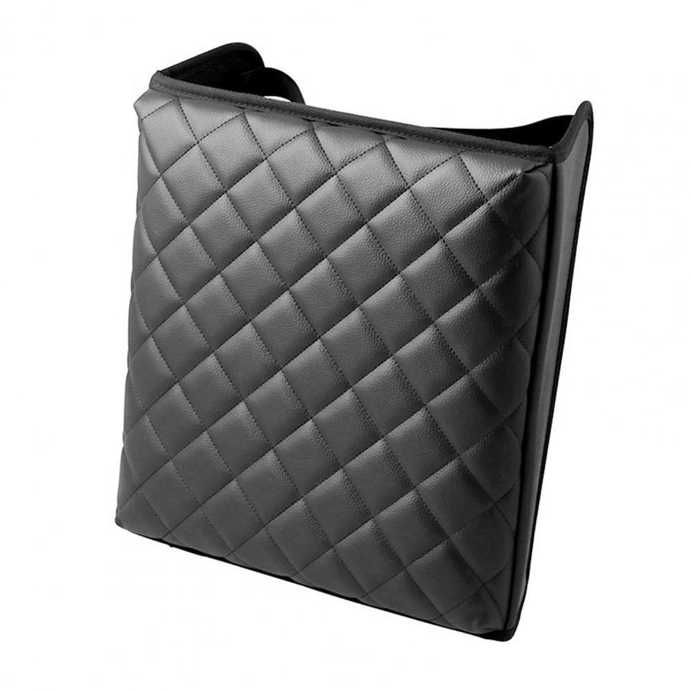 Durable Black Soft Car Armrest Cover Anti-Slip Wear Resistant PU Black Waterproof Seat Box Cover for SUV 2011-2019 Car Accessory