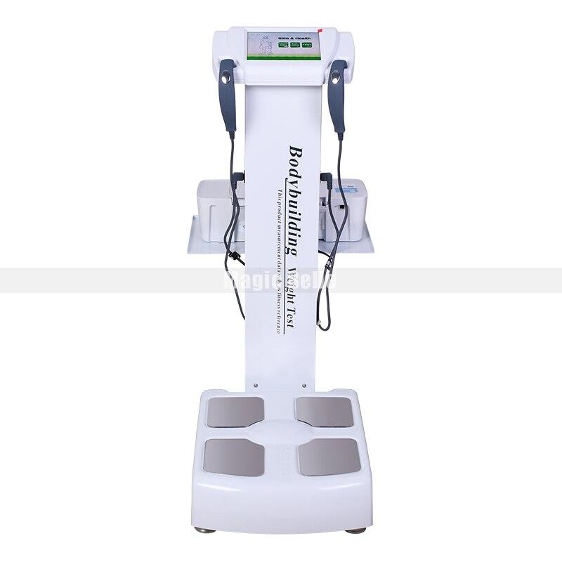 Dispositif d'essai de santé de machine d'analyse de graisse corporelle d'analyseur de composition corporelle le plus populaire de 2019