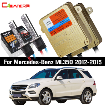 Cawanerl H7 55W Car No Error Ballast Lamp HID Xenon Kit AC Auto Light Headlight Low Beam For Mercedes-Benz ML350 2012-2015