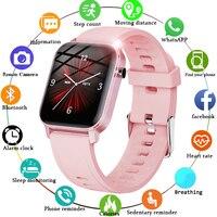 LIGE Frauen Smart Watch IP68 WASSERDICHTE 1.4