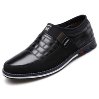 High quality Big size Casual Shoes Men Fashion Business Men Casual Shoes Hot sale Spring Breathable Casual Men Shoes Black