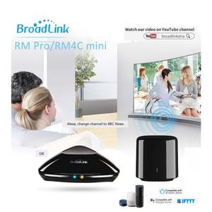 Image 5 - Broadlink RM4C Mini 2020 RM Mini3 Alexa Amazon WiFi IR uyumlu Google ev kablosuz akıllı uzaktan kumanda IOS ses kontrolü