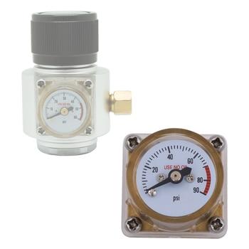 HPAT 0-90psi Gauge for Mini Sodastream CO2 Beer Regulator