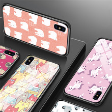 Cute Animal Phone Case For iPhone X XR XS MAX For iPhone 6 6S Plus iPhone 7 8 Plus  5 5S SE Ultra Thin Cases Protective Fundas пластиковая накладка ultra thin air series для iphone 5 5s se пленка белый smooth white sgp09505