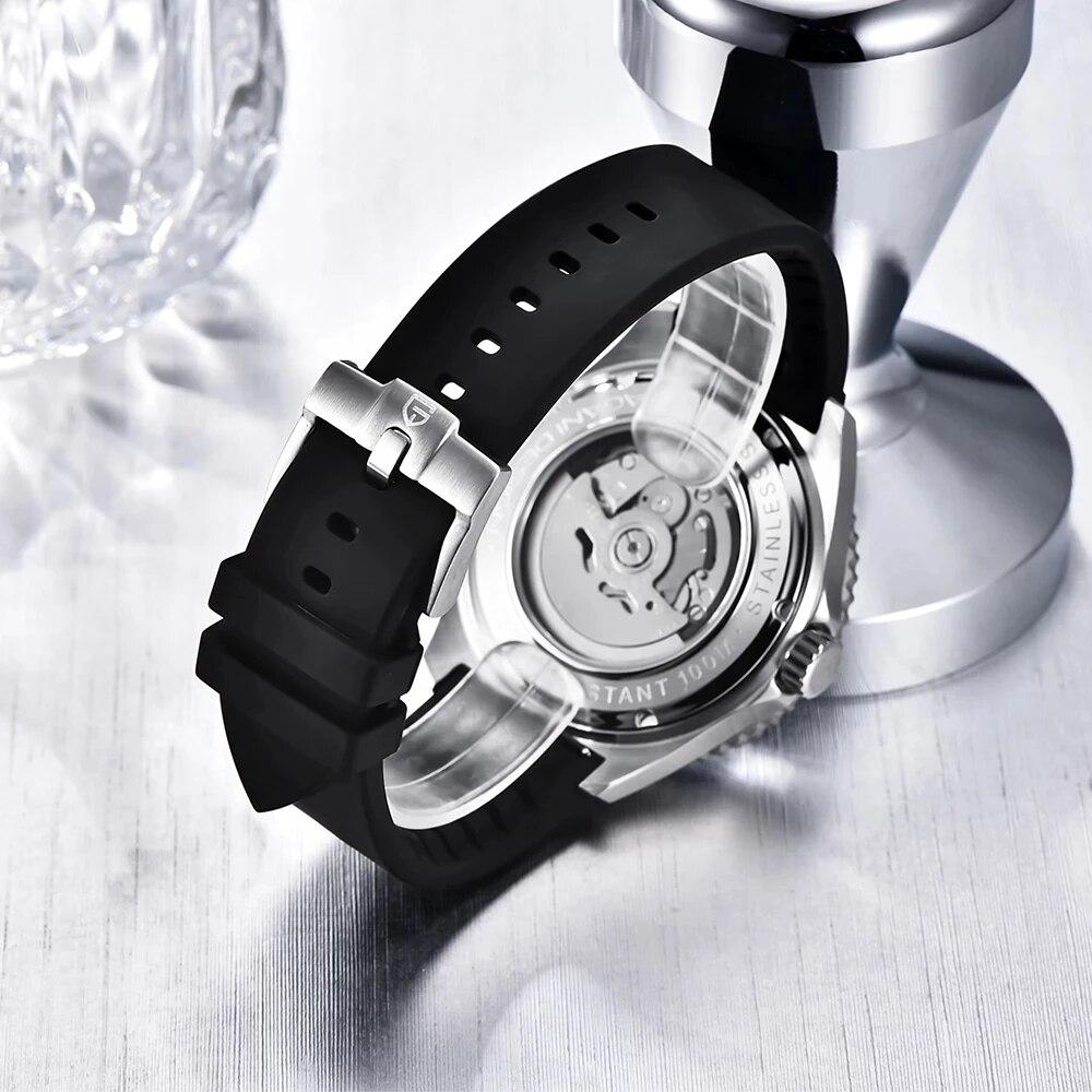 Часы pagani design Мужские механические брендовые водонепроницаемые