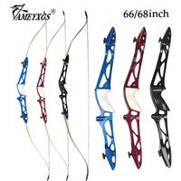 1set 12 40lbs Hunting Recurve Bow 66/68inch American Competition Bow For Bow And Arrow Shooting Training Archery Practice Bows