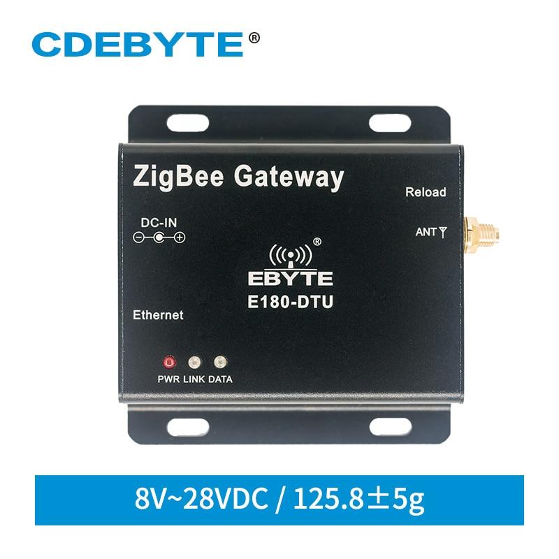 ZigBee 3.0 Gateway Ethernet RJ45 Modem 100M Full Duplex TCP UDP Wireless Server