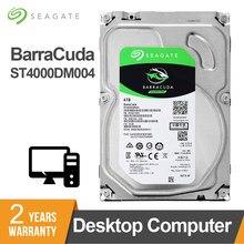 Seagate 4TB 3.5 polegada MB de Cache 7200RPM SATA de 5900 Gb/s 6 64 Desktop HDD Internal Hard Disk Drive Para computador ST4000DM004 HDD Unidade de Disco Rígido