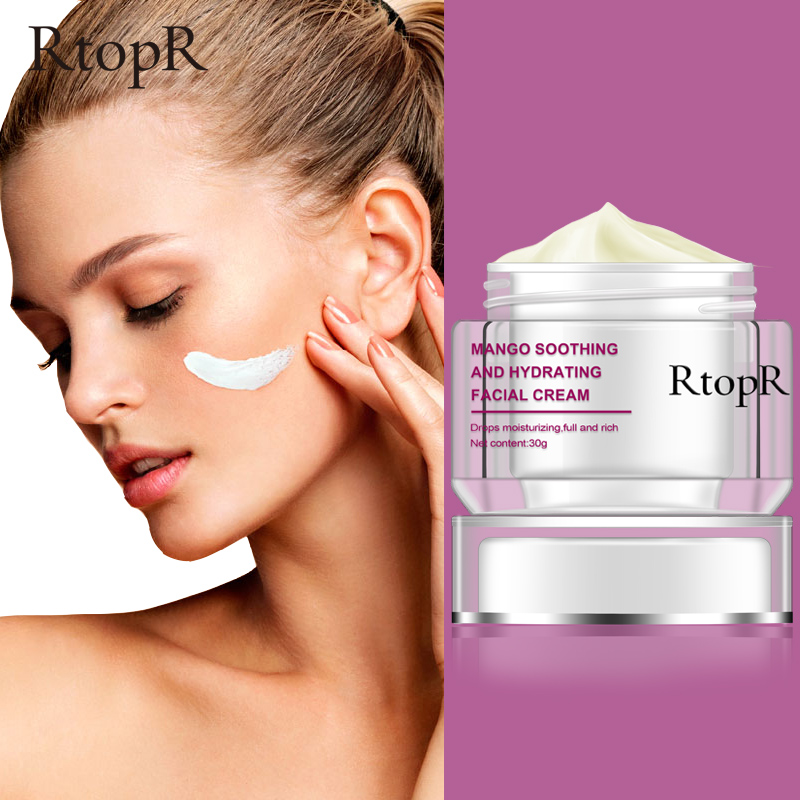 RtopR Face Cream Anti-Wrinkle Anti Aging Whitening Mango Moisturizing Liquid Tights Nourishing Shrink Pores Hyaluronic Acid
