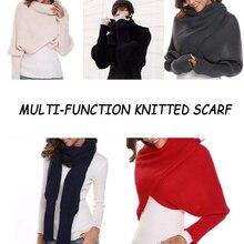 Winter Autumn Warm Multi-function Knitted Scarf Shawl Women Men Fashion Excellen