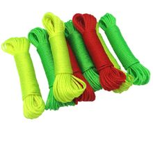 10 м Материал смелая 32 нити мульти-функциональная верёвка для сушки на открытом воздухе в комплекте веревка креветка клетка веревка цвет Случайный