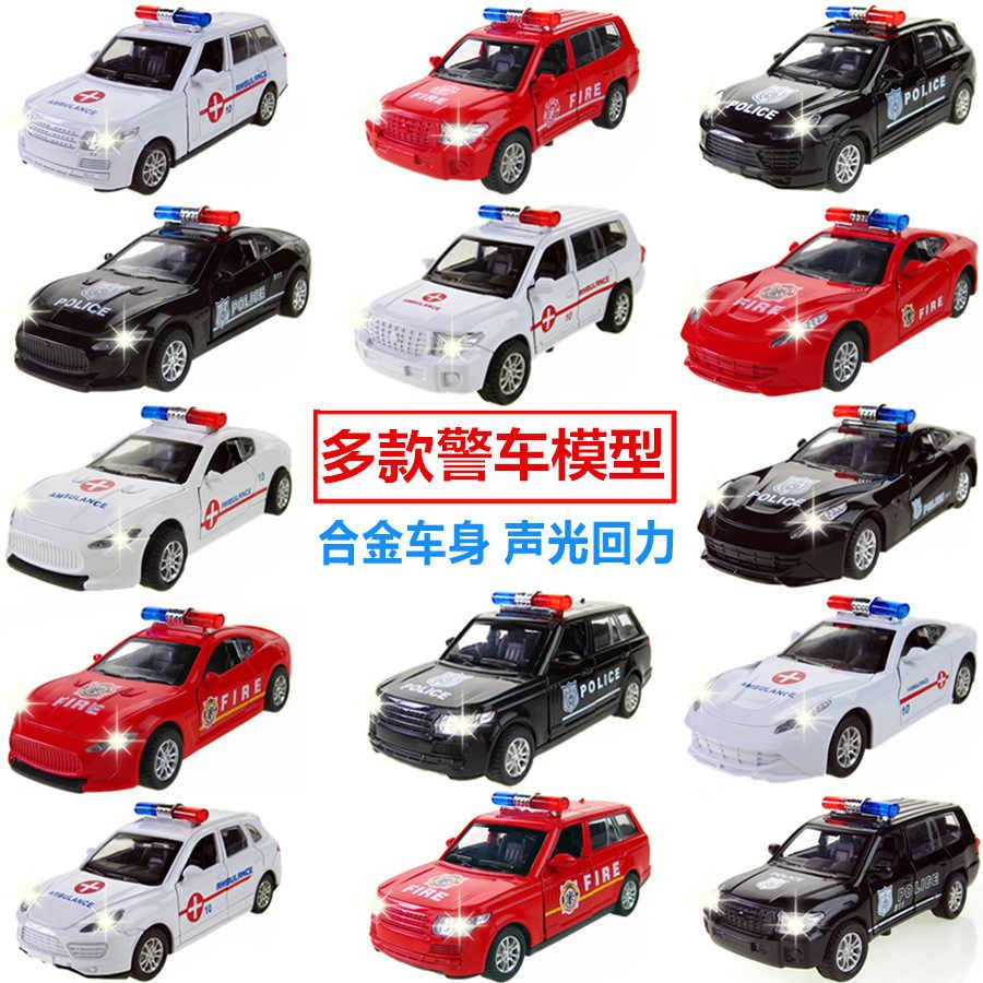 1:32 Alloy Diecast Model Kendaraan Mobil Lebih Awal Pendidikan Mainan Mobil Truk Pemadam Kebakaran Ambulans untuk Anak Laki-laki Anak Hadiah Toyota Tundra Logam