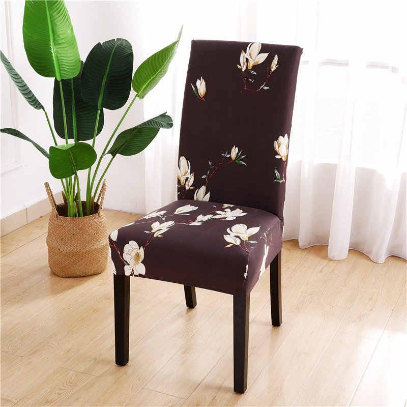 Fundas de silla de LICRA elástico funda de silla para comedor de fiesta de boda fundas elásticas para muebles Anti-sucio decoración removible para el hogar