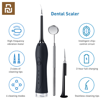 Youpin YMYM Dental Calculus Remover USB Tooth Cleaner Scaler 3 Model Electric Oral Irrigator Teeth Tooth whiten Tartar Scraper