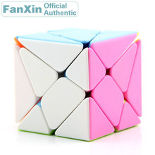 FanXin Transformation 3x3x3 Magic Cube 3x3 Skewed Professional Speed Puzzle Brain Teasers Educational Toys For Children surwish yj ruilong magnetic 3x3 magic cube educational toys for brain trainning colorful
