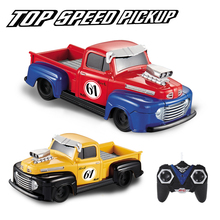 1:24 Ford Pick-up RC Car Toys 4 channel Radio Remote Control Vehicle Flashing Light Top Speed pickup Retro Car Birthday Present
