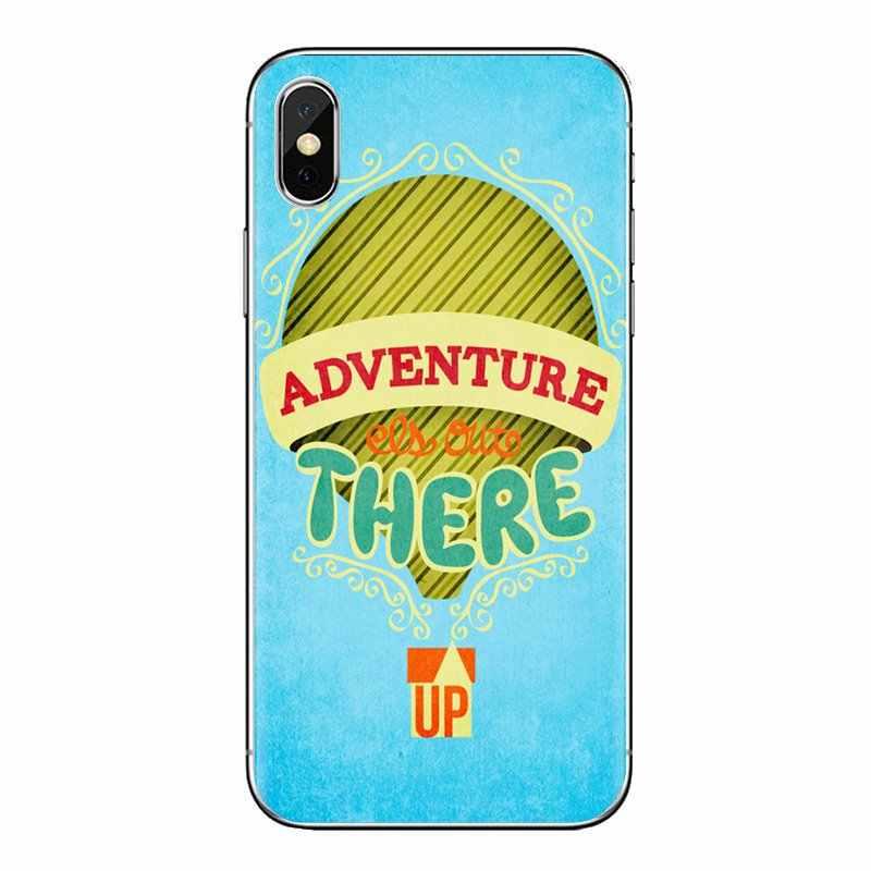 สำหรับ HTC One U11 U12 X9 M7 M8 A9 M9 M10 E9 Plus Desire 630 530 626 628 816 820 830 ผจญภัย Up Pixar ภาพเคลื่อนไหวอ้างฝาครอบโทรศัพท์