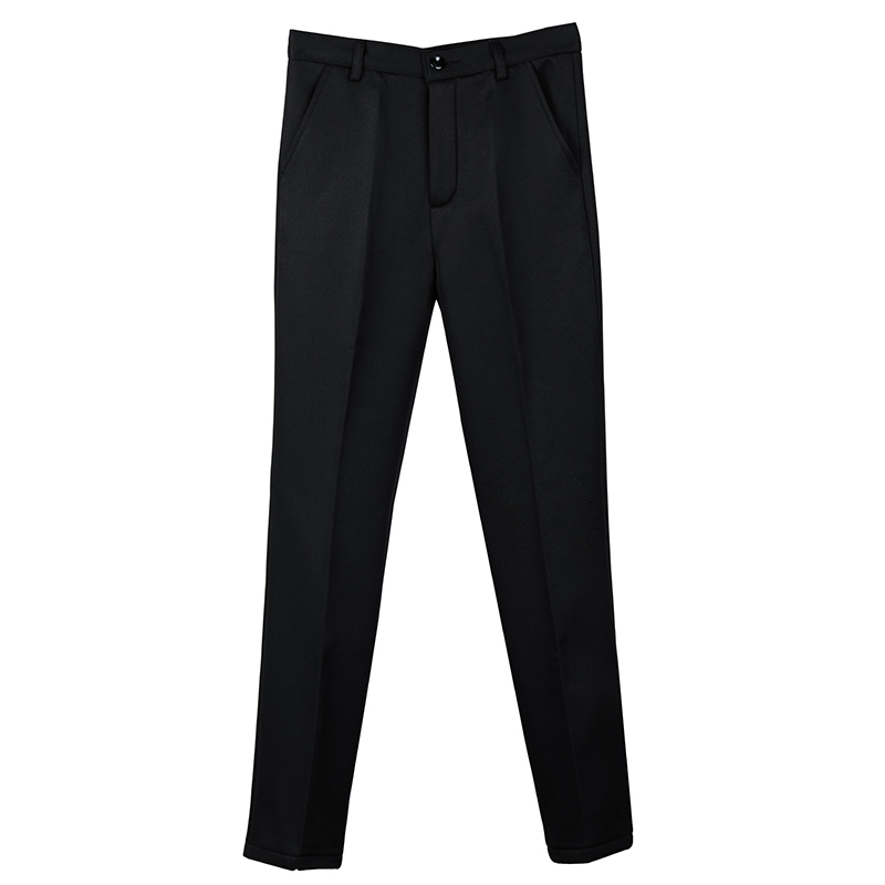 Plus Size <font><b>4XL</b></font> High Waist Straight Pants Women 2020 Fashion Black Office Wear Pockets Female Trousers <font><b>Pantalones</b></font> <font><b>Mujer</b></font> image