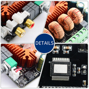 Image 5 - UNISIAN  TDA7498E class D audio 2.0 Channel  Amplifier board High Power Hifi BTL mono 220w Amplifiers for  home sound systems
