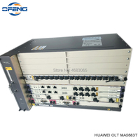 Huawei GPON OLT MA5683T 10G with 2xSCUN + 2xPRTE + 2x X2CS + 1*GPFD C++ 16 PON Service board, Fttb/Fttc/Ftth OLT