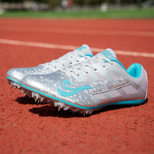 Men's and women's track and field spikes track and field sports outdoor men's running sneakers unisex track and field shoes comf