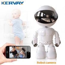 Cámara de seguridad IP Robot de 1080P, 360 °, WiFi, inalámbrica, 2MP, videovigilancia inteligente para el hogar, P2P, Monitor oculto para bebés