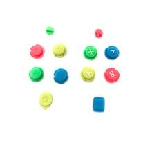 Coloré ABXY Directions touches boutons Joystick pour Nintendo Switch NS NX contrôleur Joy con gauche droite contrôleur