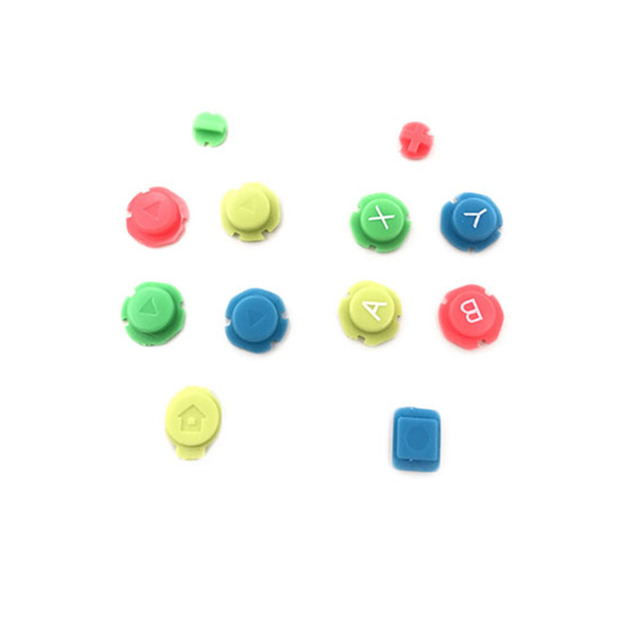 Colorful ABXY Directions Keys Buttons Joystick for Nintendo Switch NS NX Controller Joy con Left Right Controller