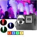 Профессиональный LED 1500 Вт RGB 3в1 противотуманная машина DMX512/беспроводной пульт дистанционного управления Pyro Вертикальная дымовая машина с ...