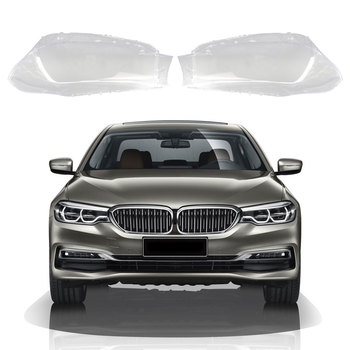 Car Front Headlights Lens Cover Headlamps Transparent Lampshades Lamp Shell Masks For BMW 5 Series G30 G38 2017 2018